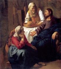 Maria dan Martha | Pelayanan christ in the house of mary and martha 2