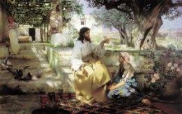 Maria dan Martha | Pelayanan semiradsky christ martha maria 3