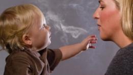 Perokok Miskin Mental smoking baby 2