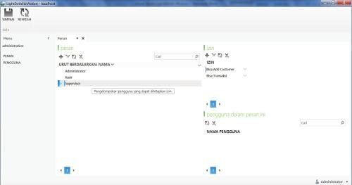 Visual Studio LightSwitch #6: Hak Akses, User dan Login, Fungsi Tambahan buatperan 5