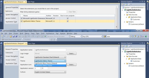 Visual Studio LightSwitch #3: Interface dan Bahasa 4