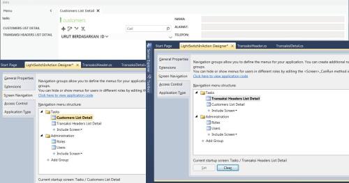 Visual Studio LightSwitch #5: Web - Desktop Switching, Publishing, dan Mekanisme Update screennav 6