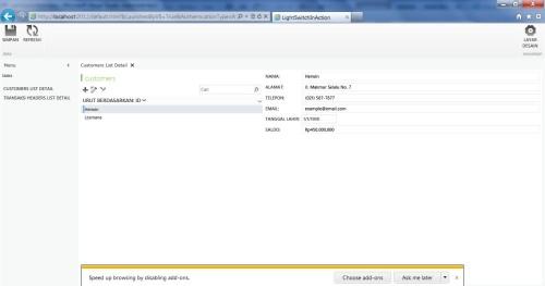 Visual Studio LightSwitch #5: Web - Desktop Switching, Publishing, dan Mekanisme Update webapp 2