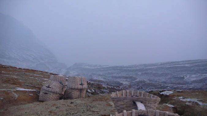 Sulfur Miner's Bucket, Mt. Ijen